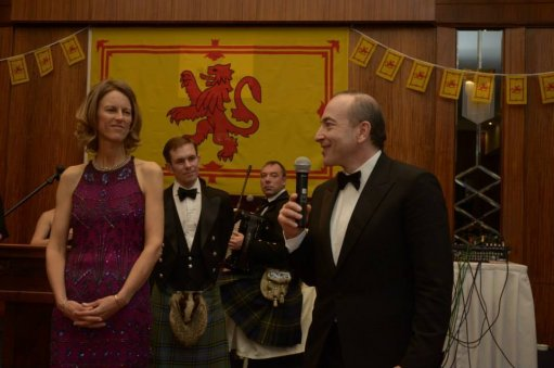 British Embassy has hosted the fifth annual event in honor of the Robert Burns