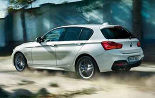 The BMW 1 Series 5-door