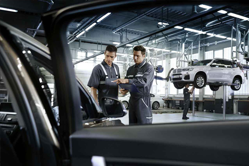 Check your BMW at Omega Motors BMW service-center totally free!